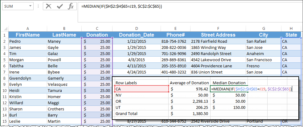 Calculate Median in Excel PivotTable - Image 4