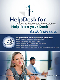 HelpDesk for Accounts Receivable Professionals - accounts receivable software