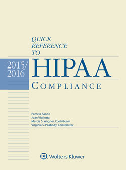 Quick Reference to HIPAA Compliance