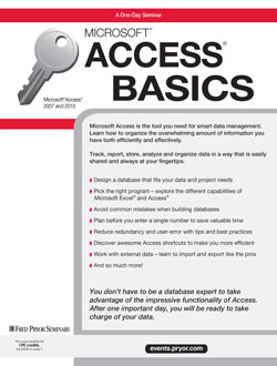 Microsoft® Access® for Beginners