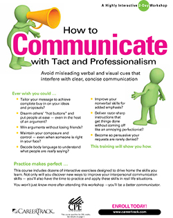 How to Communicate with Tact and Professionalism