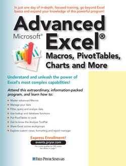 Advanced Microsoft® Excel®