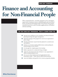 Finance Courses For Beginners - Finance and Accounting for Non-Financial People