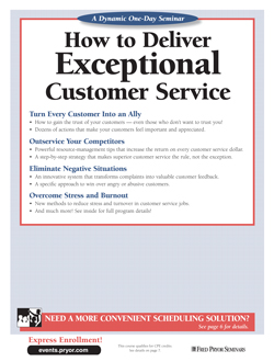 How to Deliver Exceptional Customer Service