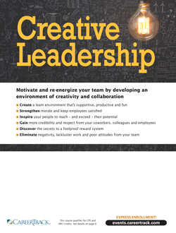 Creative Leadership for Managers, Supervisors and Team Leaders