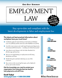 Employment & Labor Law Training Seminar Course