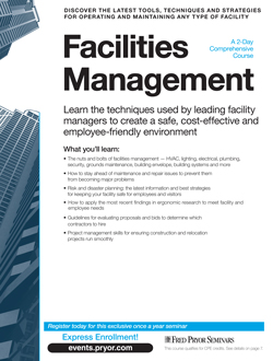 Facilities Management - A 2-Day Comprehensive Course