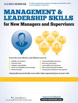 Management & Leadership Skills for Managers and Supervisors (2-Day)