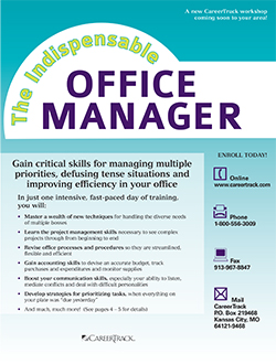 The Indispensable Office Manager brochure