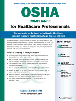 OSHA Compliance for Medical and Dental Offices - Guidelines & Regulations