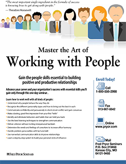 Master the Art of Working with People