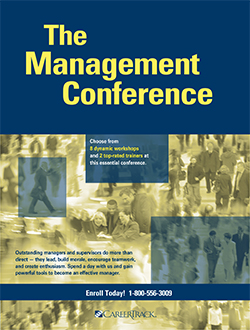 Management Training Course: The Management Conference