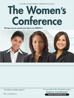 The Women's Conference brochure